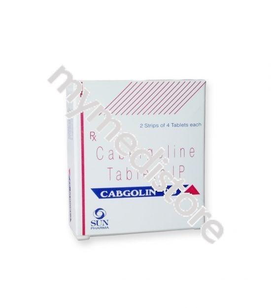 Cabgolin 0.25 mg zyrtec