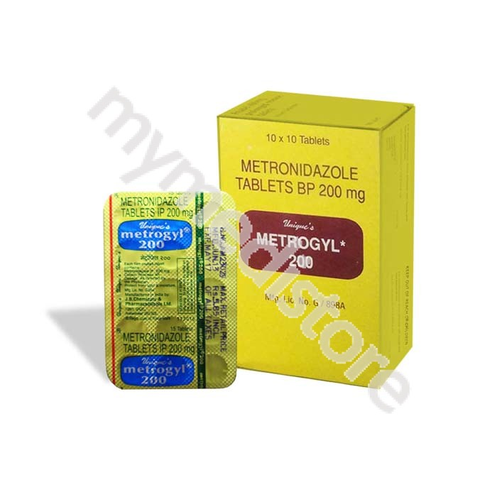 Metrogyl 200 Mg Tablet Cheapest Uses Price Side