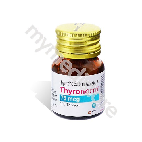 Buy Thyronorm 75 Mcg Tablet Online With Affordable Price Rate